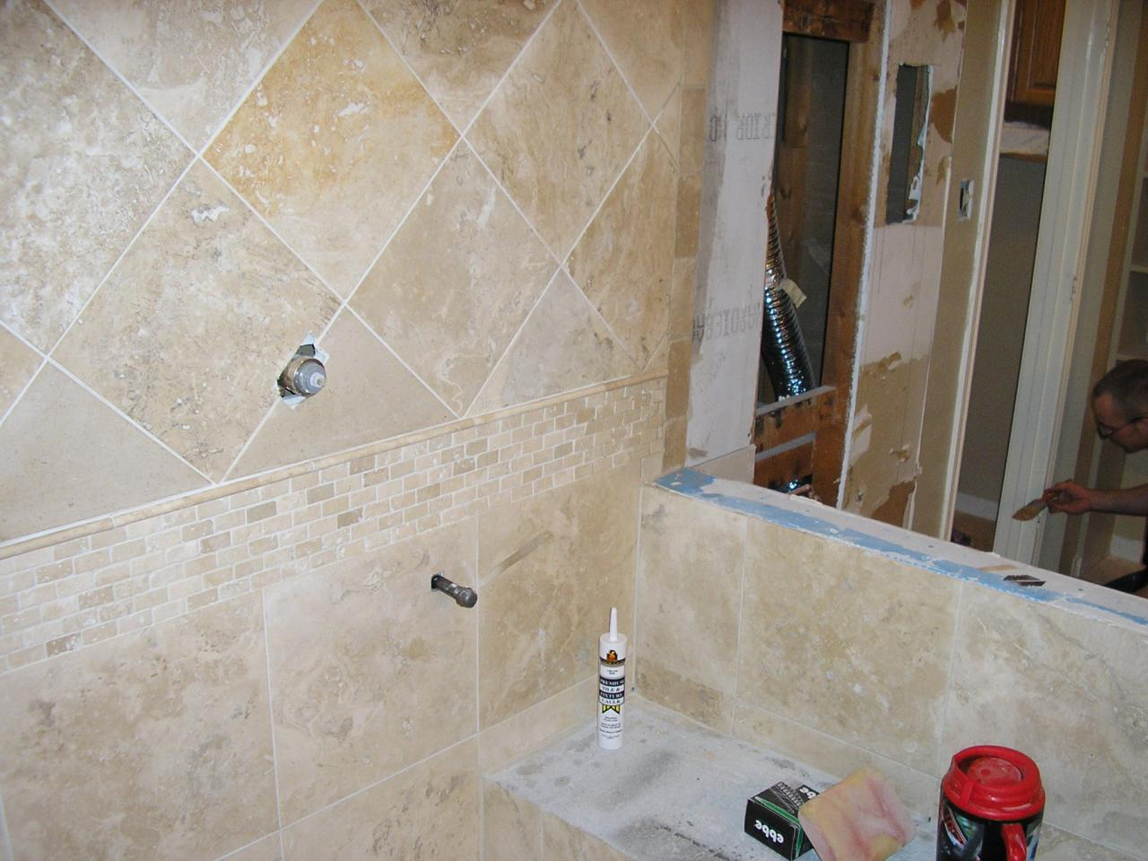 Bathroom 4 - During Job